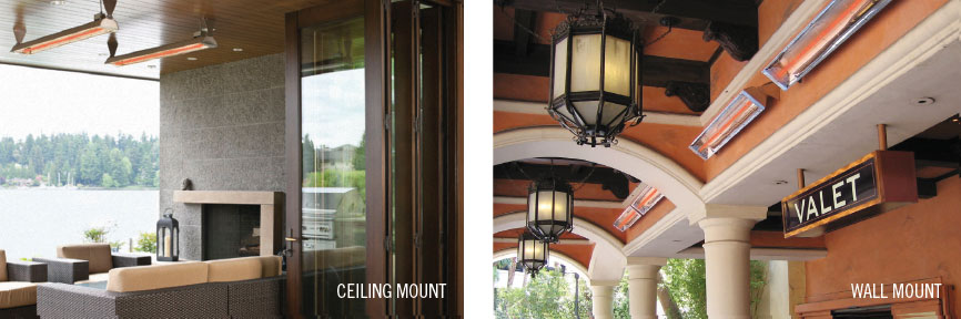 Ceiling and Wall Mount