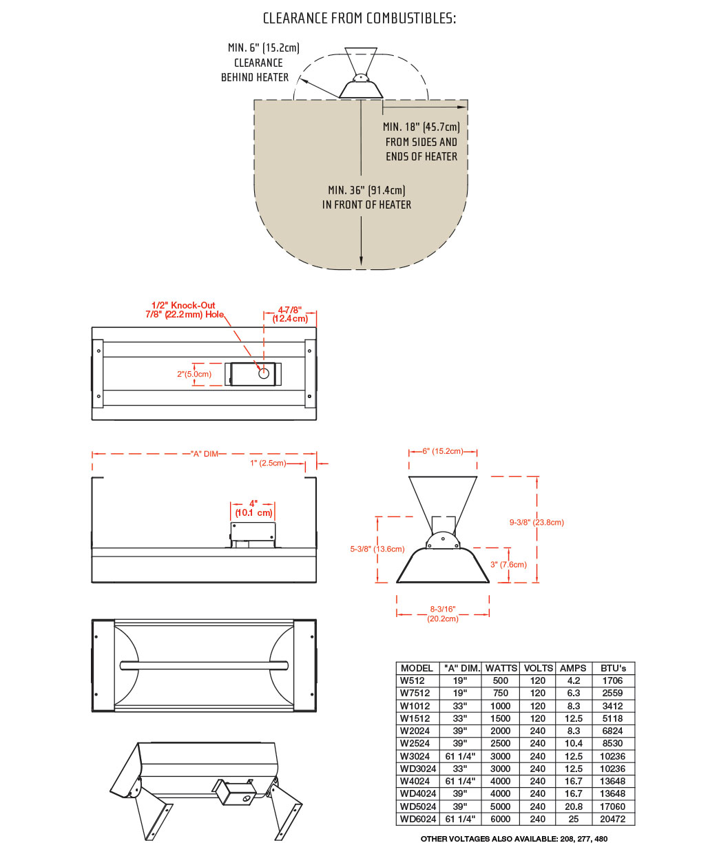 Reference Manual Infratech Official Site Single Pole Double Throw Switch Wiring Diagram For 277v Our Helpful Instruction Video How To Replace An Heating Element W Wd Series Please Visit Or Contact Customer