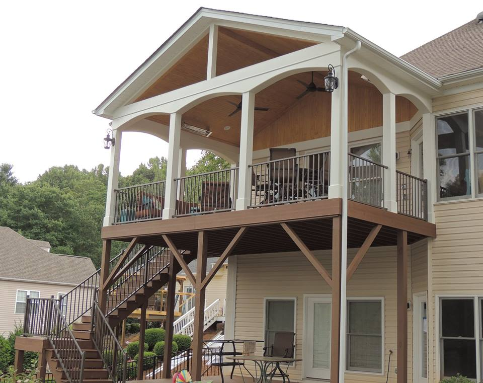 Exterior Additions Balcony - North Carolina