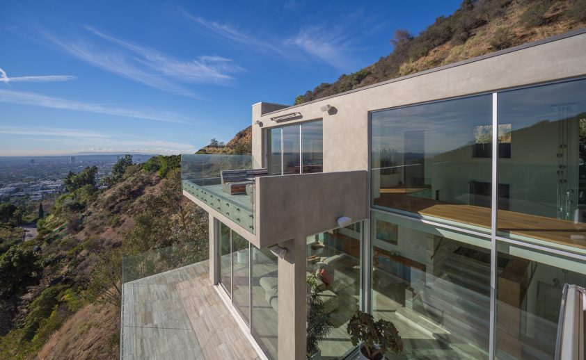 Los Angeles Canyon Home with wall mount SL-Series heaters by ANX - Photos by Brian Thomas Jones.