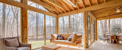 W-Series sunroom