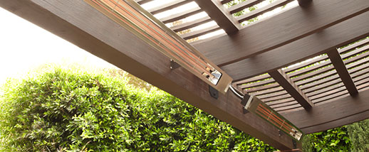 Sl Series Minimal Single Element Outdoor Heaters Infratech