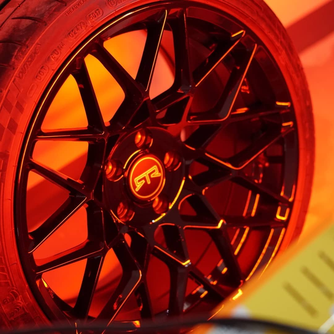 Short wave infrared curing CQuartz Finest Reserve on these RTR Wheels